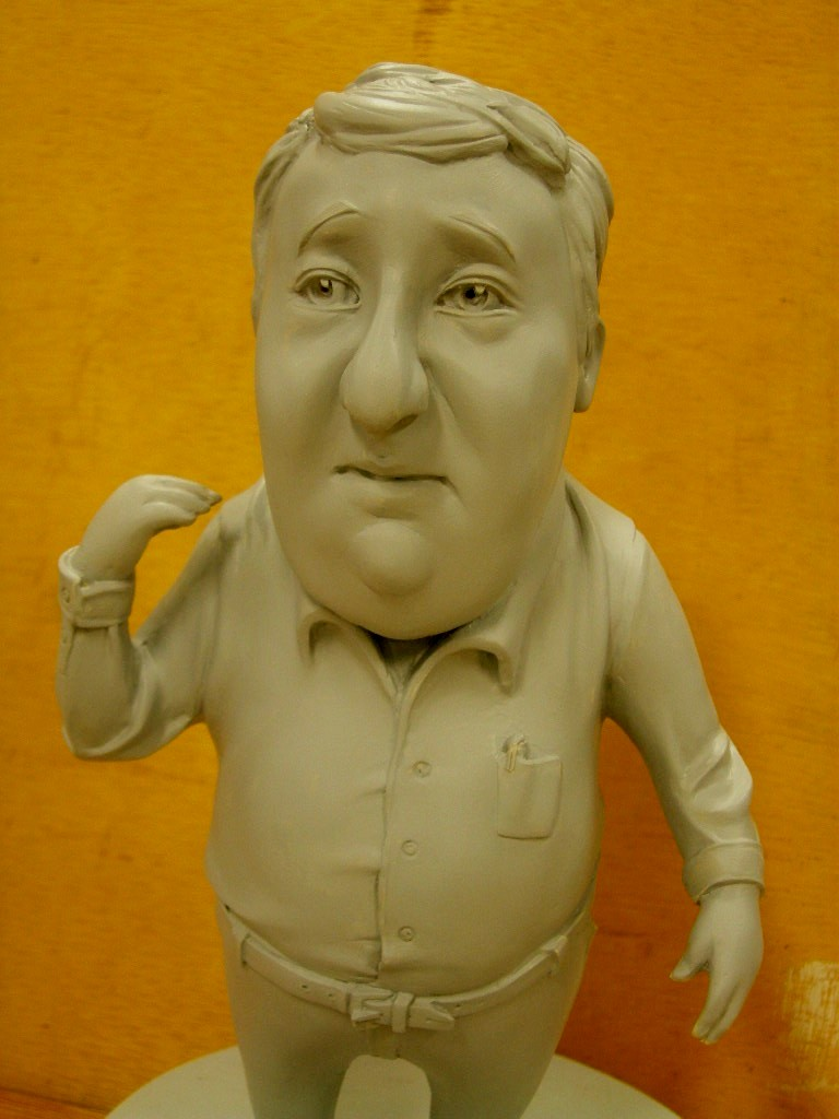 clay caricature